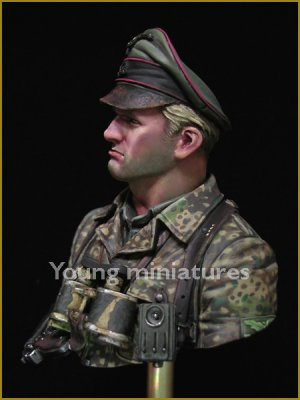 German Waffen SS Officer 1944  (Vista 3)