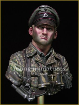German Waffen SS Officer 1944  (Vista 6)