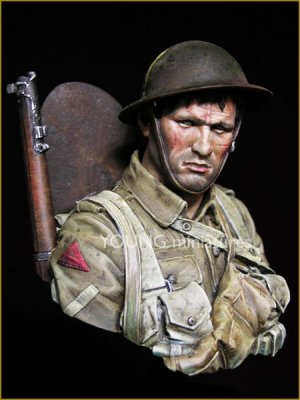 British Infantryman Somme 1916  (Vista 1)