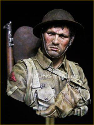 British Infantryman Somme 1916  (Vista 2)