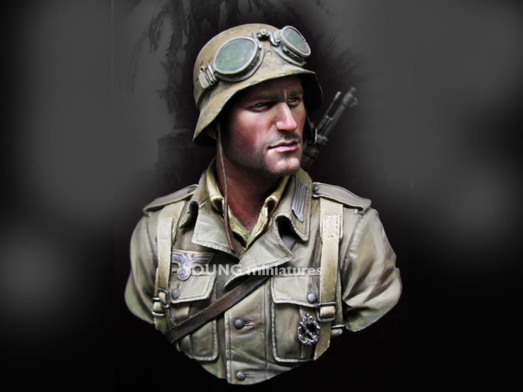 Infante Aleman DAK Norte Africa WWII  (Vista 1)