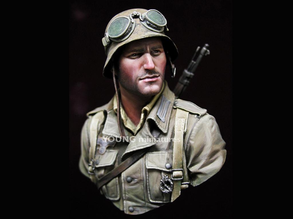 Infante Aleman DAK Norte Africa WWII  (Vista 2)