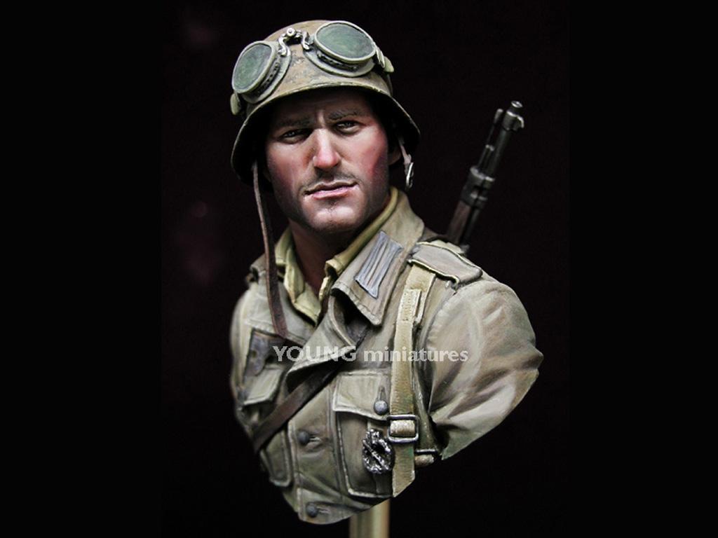 Infante Aleman DAK Norte Africa WWII  (Vista 3)