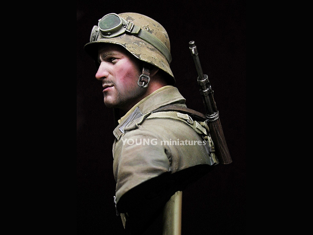 Infante Aleman DAK Norte Africa WWII  (Vista 5)