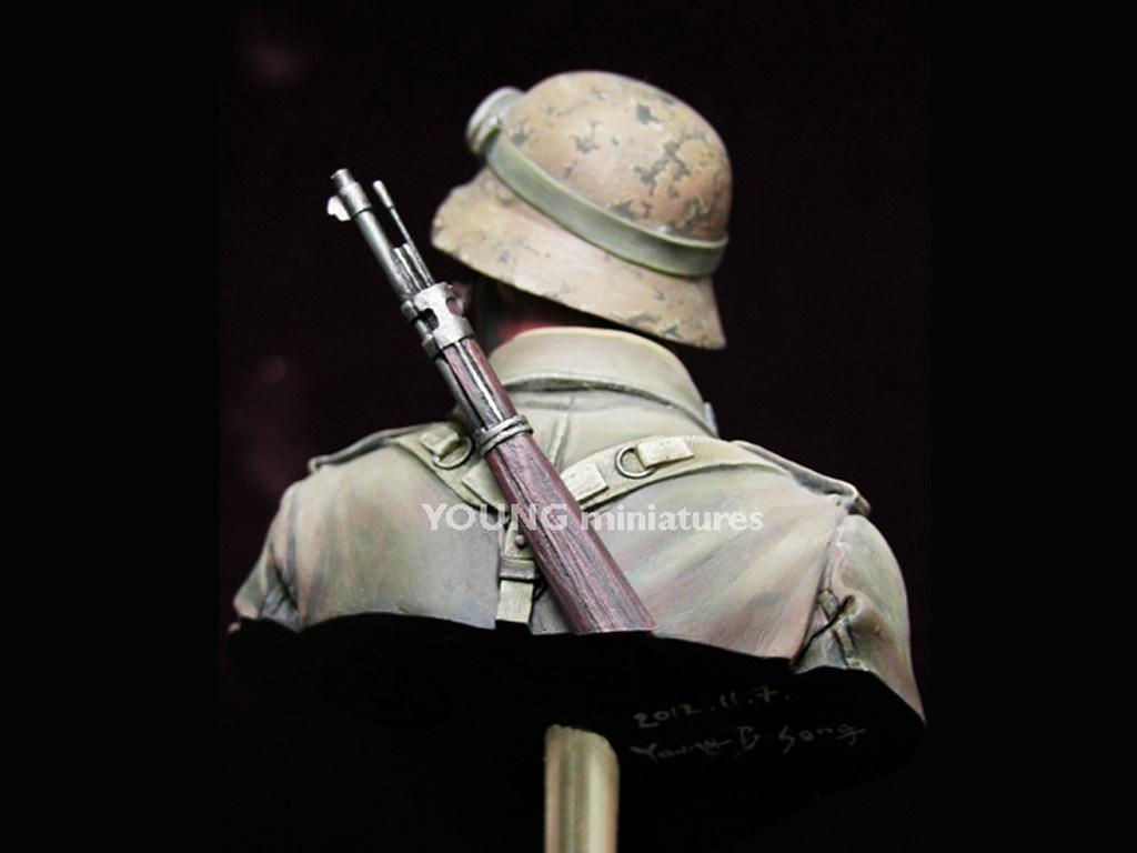 Infante Aleman DAK Norte Africa WWII  (Vista 7)