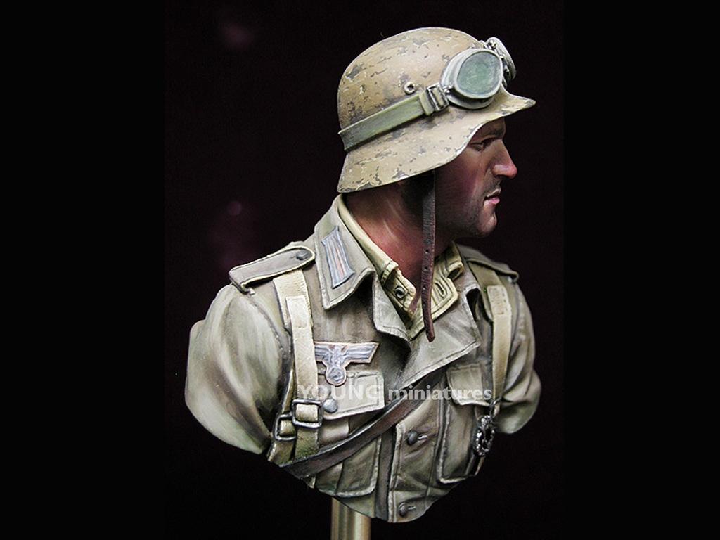 Infante Aleman DAK Norte Africa WWII  (Vista 8)