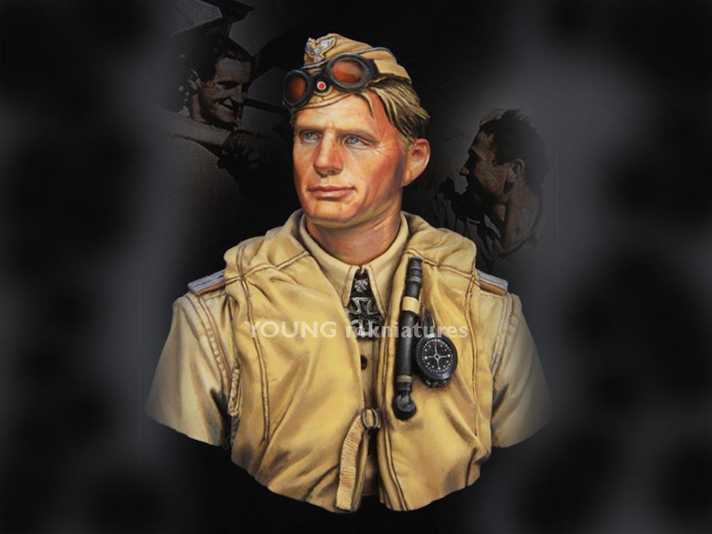 Luftwaffe Pilot North Africa  (Vista 1)