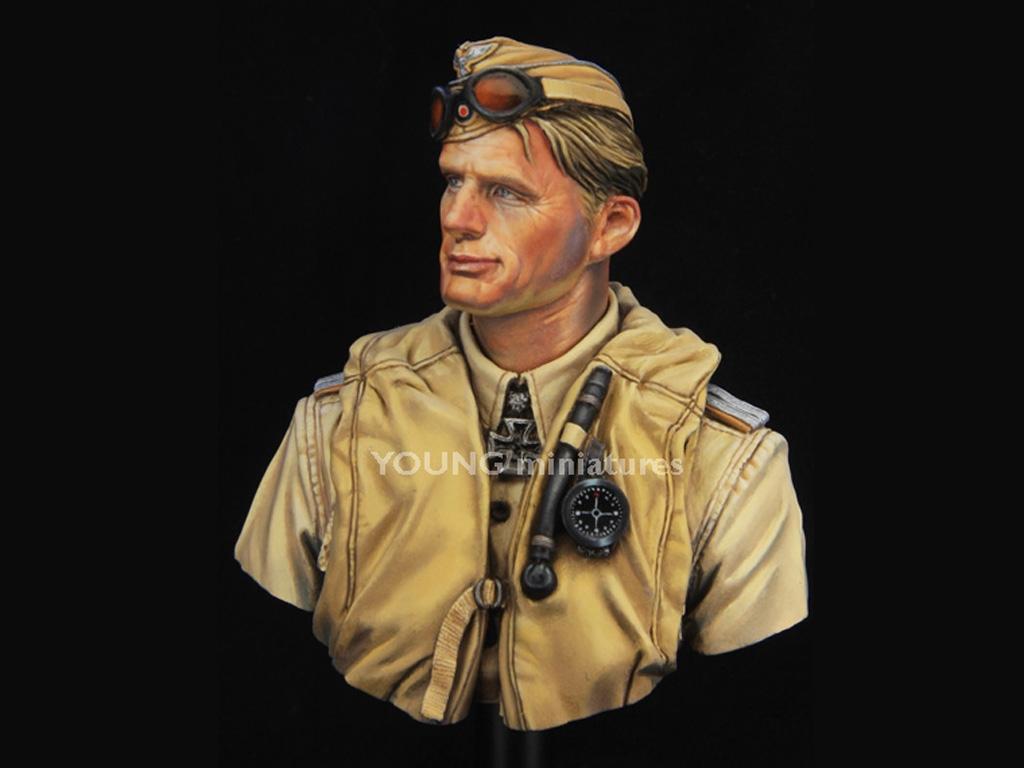 Luftwaffe Pilot North Africa  (Vista 3)