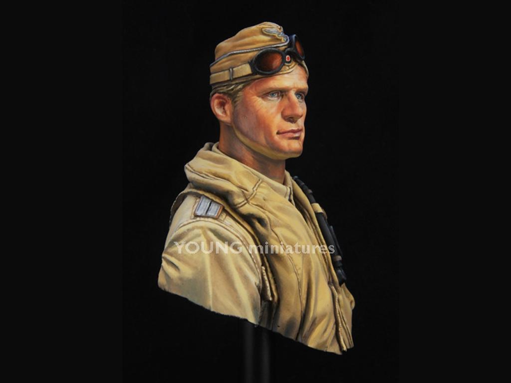 Luftwaffe Pilot North Africa  (Vista 8)