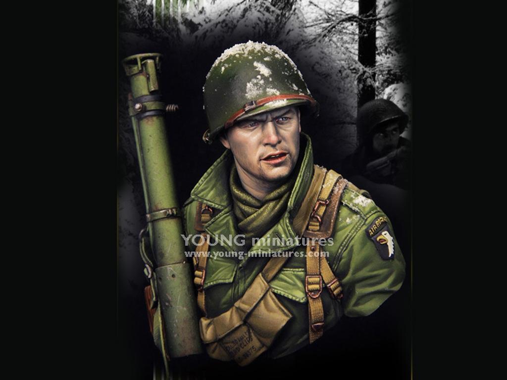 EASY COMPANY Bastogne 1944  (Vista 1)