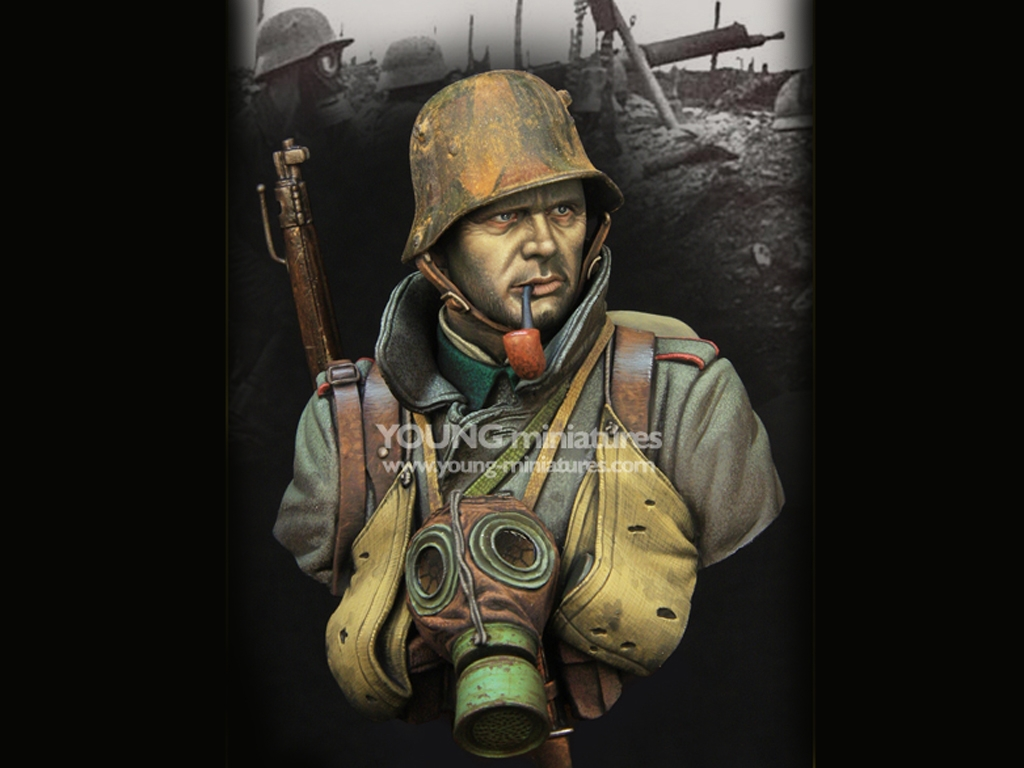 German Stormtrooper WWI  (Vista 1)