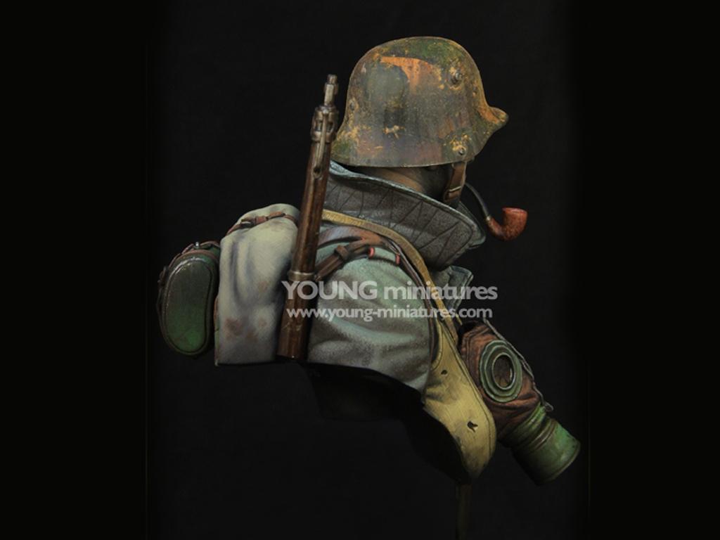 German Stormtrooper WWI  (Vista 6)