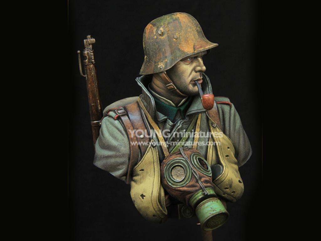 German Stormtrooper WWI  (Vista 8)