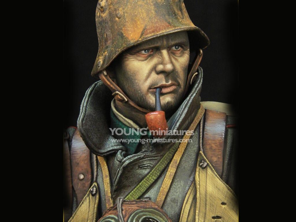 German Stormtrooper WWI  (Vista 9)