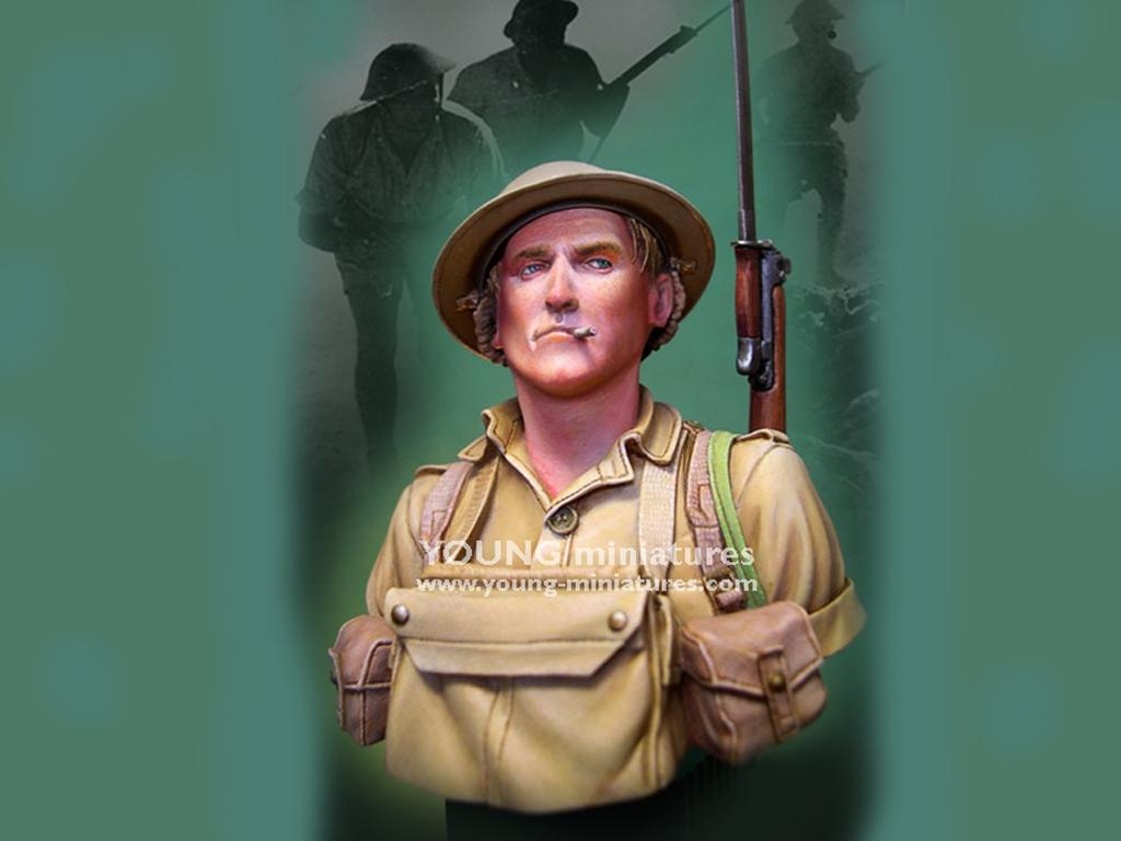 Soldado Britanico Batalla del El Alamein  (Vista 1)