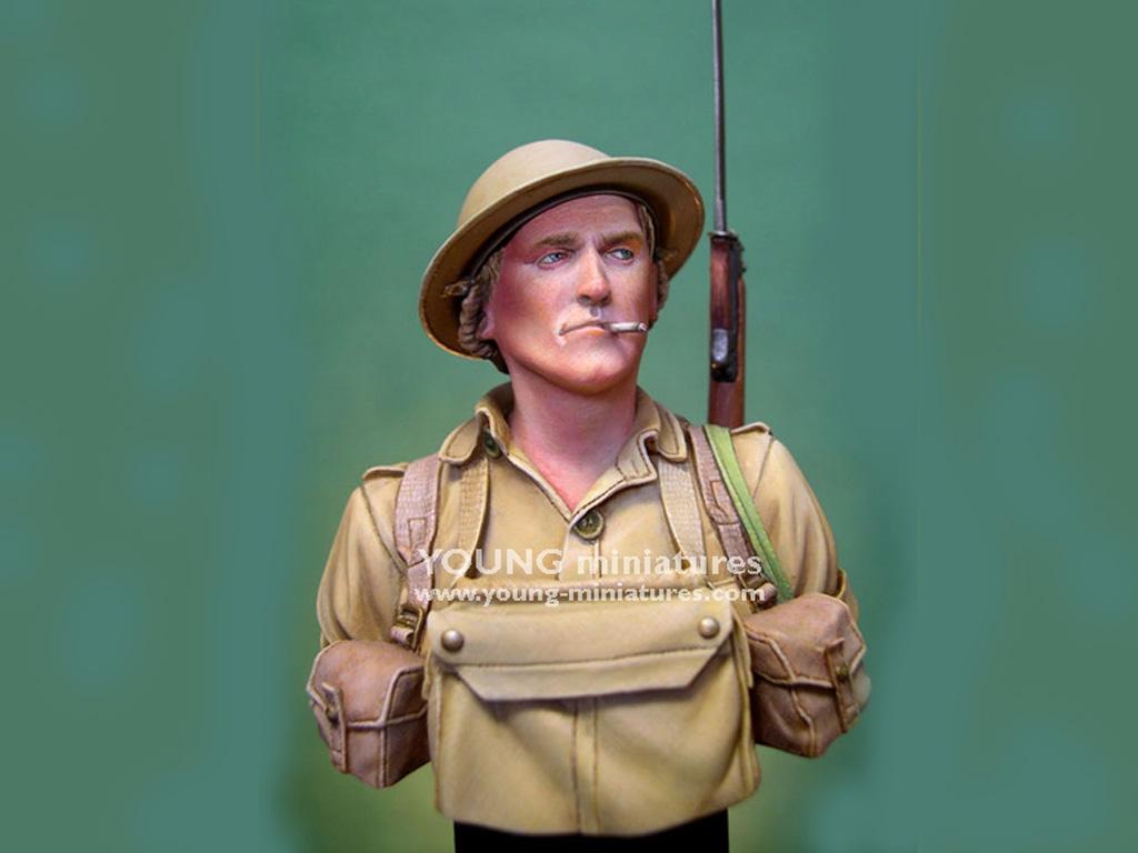Soldado Britanico Batalla del El Alamein  (Vista 2)