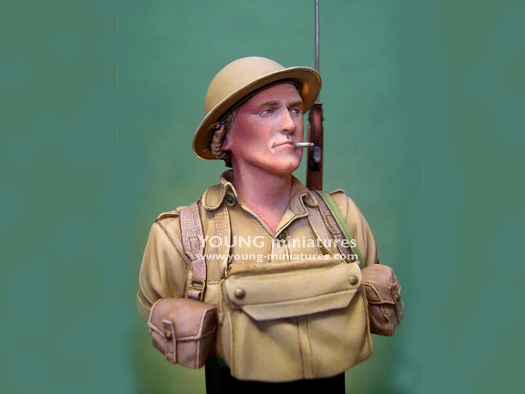 Soldado Britanico Batalla del El Alamein  (Vista 3)