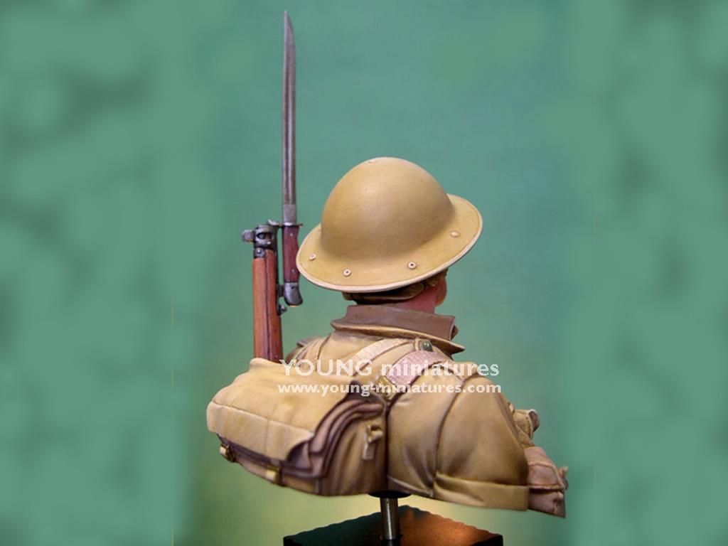 Soldado Britanico Batalla del El Alamein  (Vista 5)