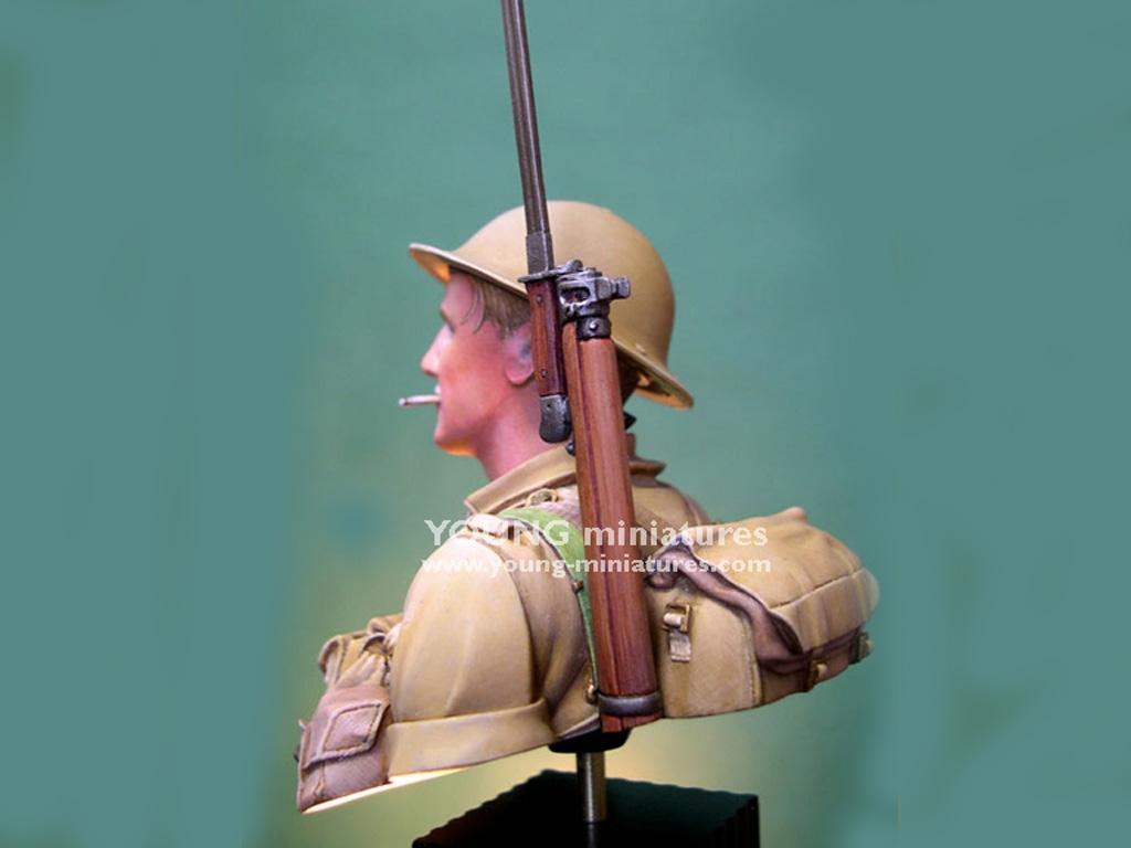 Soldado Britanico Batalla del El Alamein  (Vista 6)