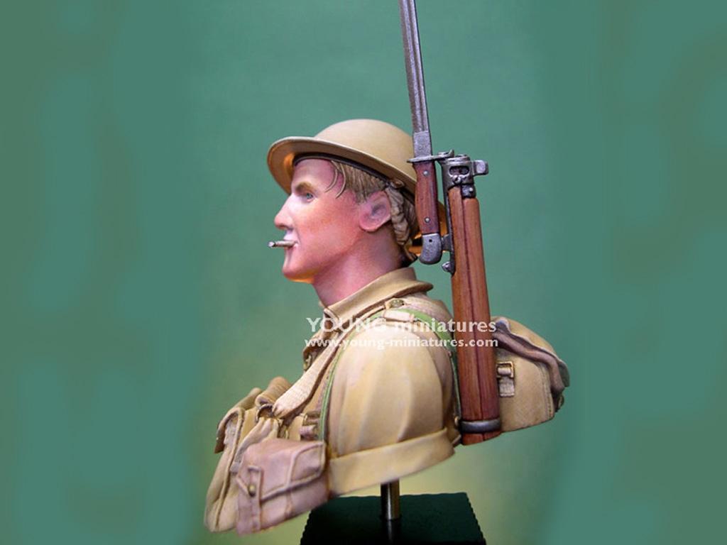 Soldado Britanico Batalla del El Alamein  (Vista 7)