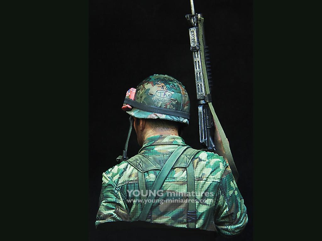 US 1st Cavalry Div Vietnam 1970   (Vista 5)