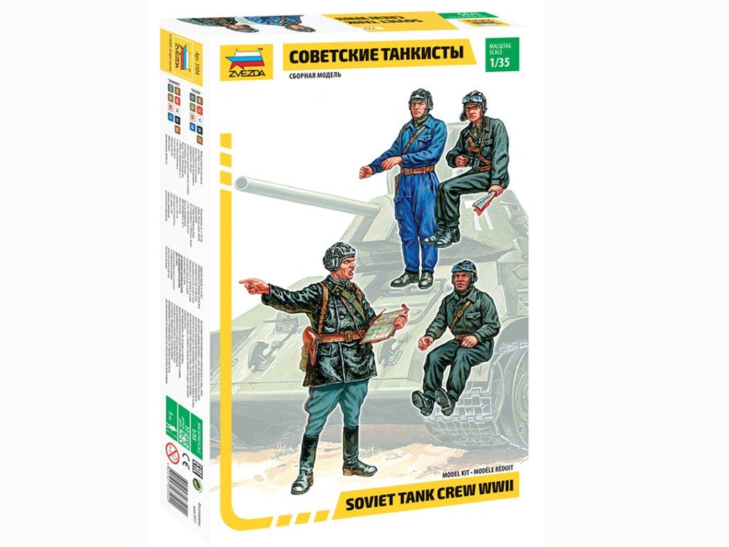 Carristas Soviéticos  (Vista 1)