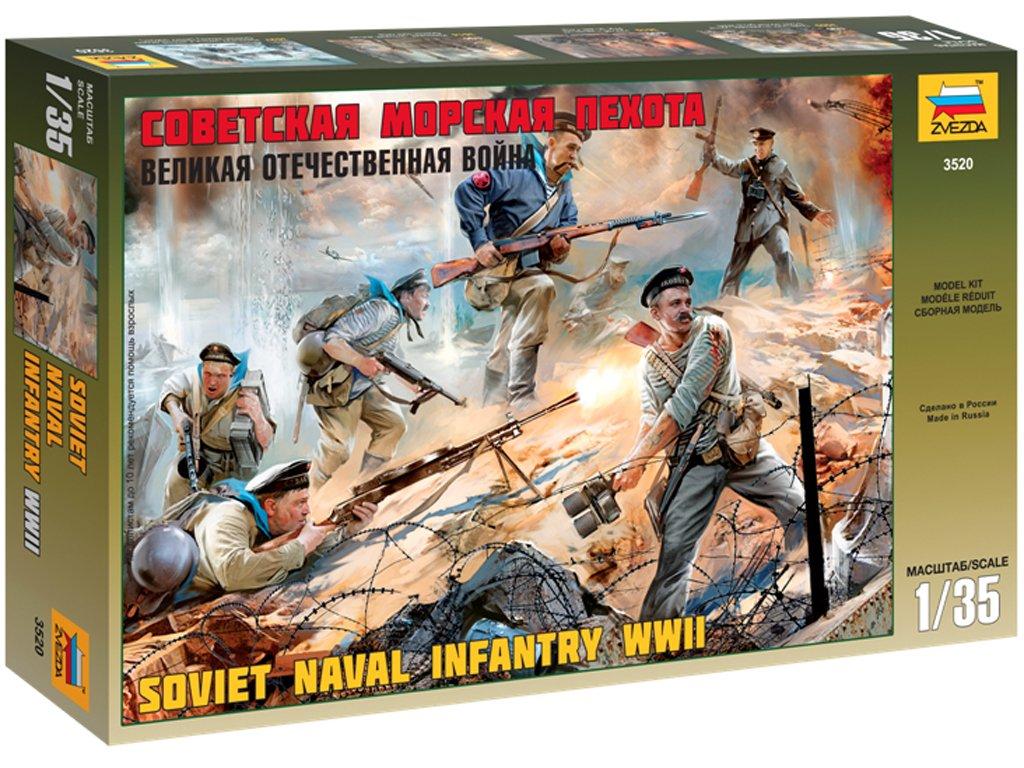Infantería naval Sovietica  (Vista 1)