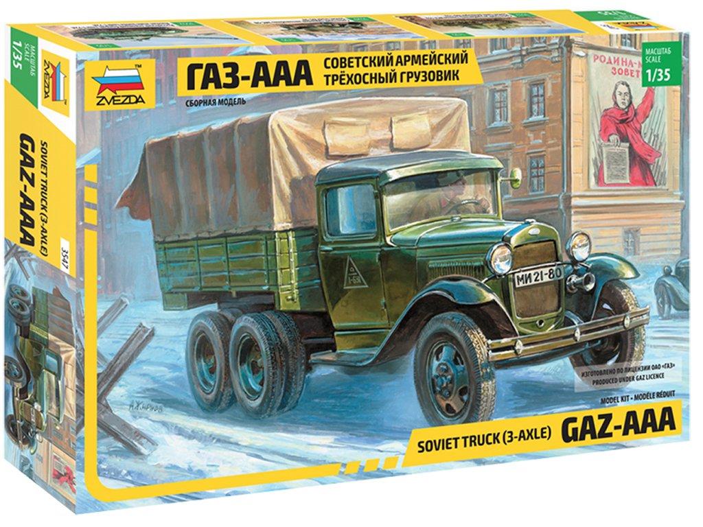 Gaz AAA Soviet Truck 3 Axel - Ref.: ZVEZ-3547