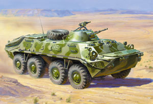 BTR-70 Russian Armored Troop-Carrier in