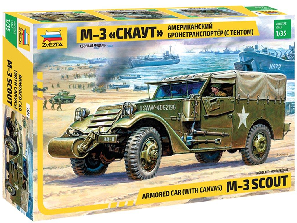 M3 de reconocimiento  - Ref.: ZVEZ-3581