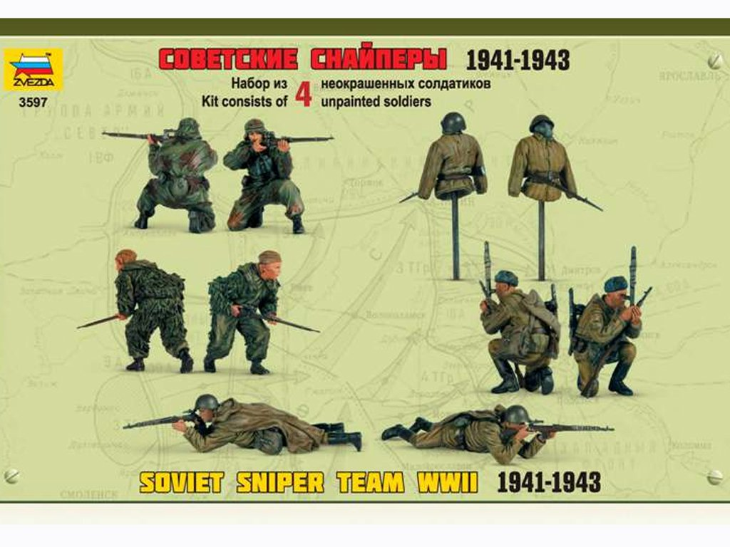 Francotiradores Sovieticos  (Vista 8)