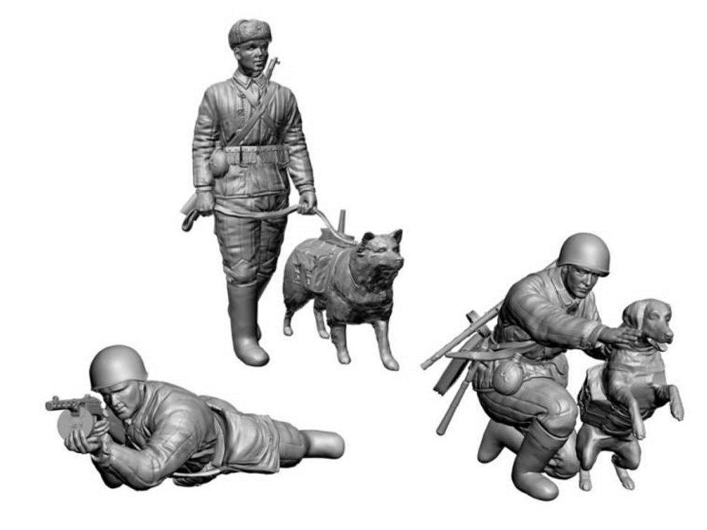 Tropas anticarro rusas 2ªG.M.  (Vista 2)