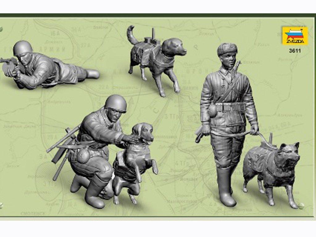Tropas anticarro rusas 2ªG.M.  (Vista 3)