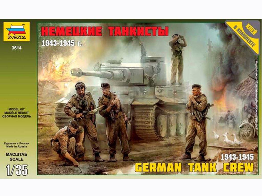 German Tank Crew 1943-45  (Vista 1)