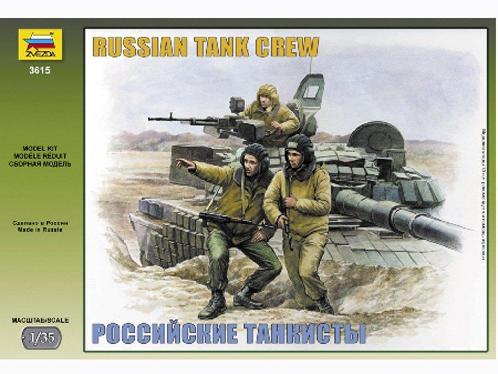 Carristas rusos modernos  (Vista 1)