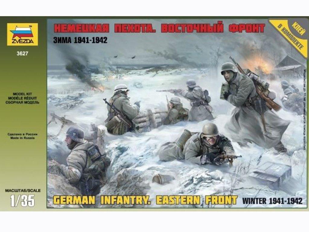 Infanteria Alemana Eastern Front Winter   (Vista 1)