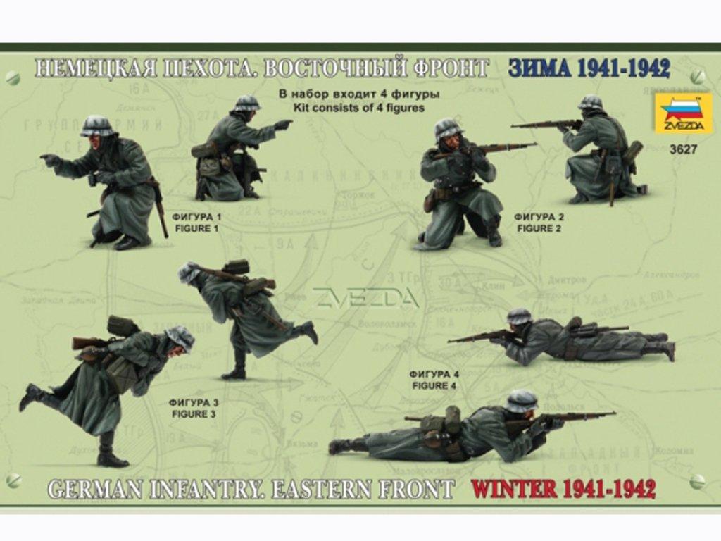 Infanteria Alemana Eastern Front Winter   (Vista 2)