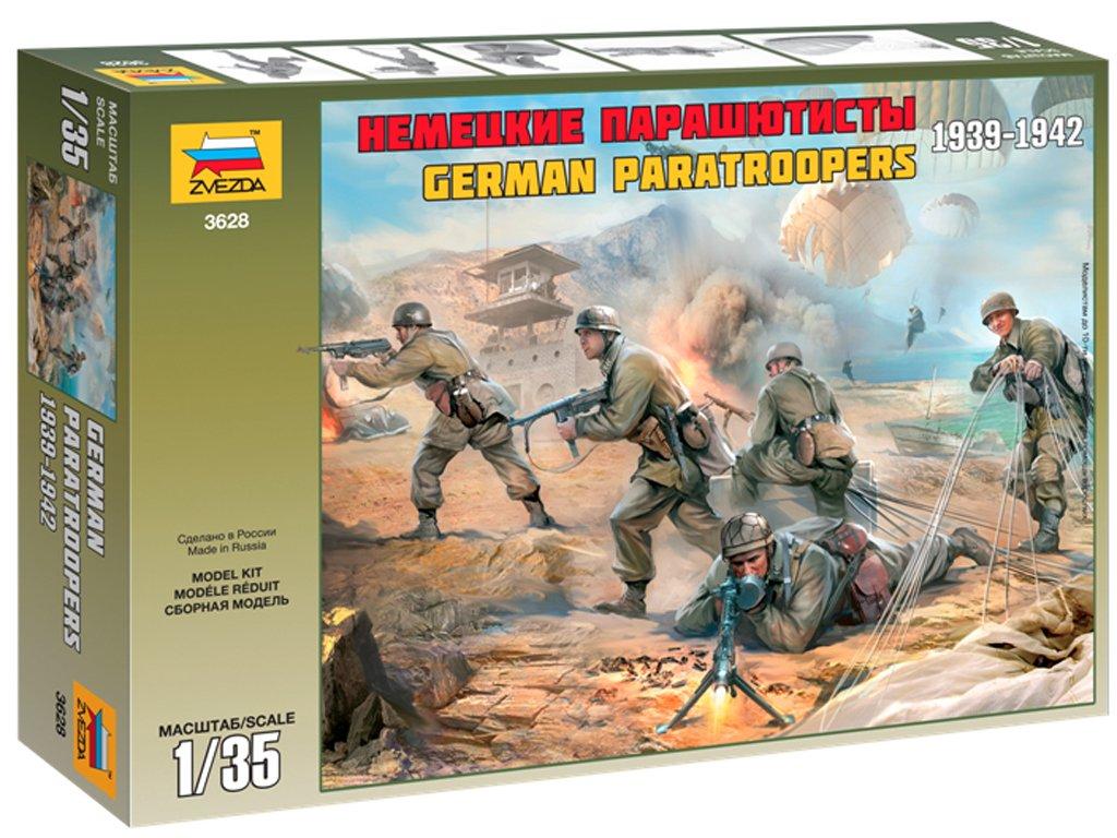 Paracaidistas Alemanes 1939-42  (Vista 1)