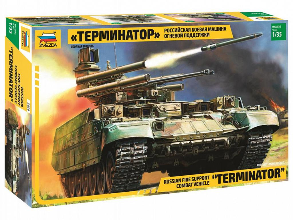 BMPT 'Terminator' Russia Fire Support Ta - Ref.: ZVEZ-3636