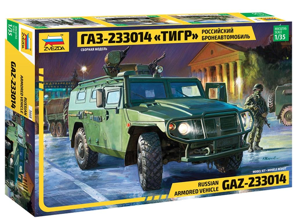 Vehículo blindado ruso GAZ-233014  - Ref.: ZVEZ-3668