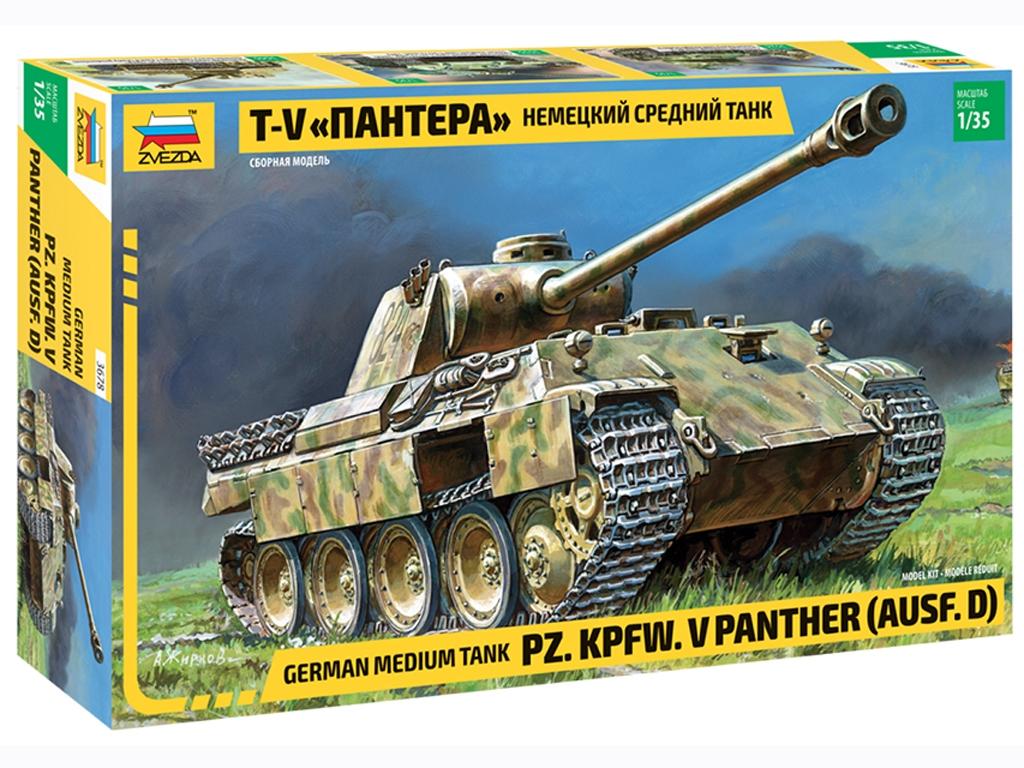 Panther Ausf.D - Ref.: ZVEZ-3678