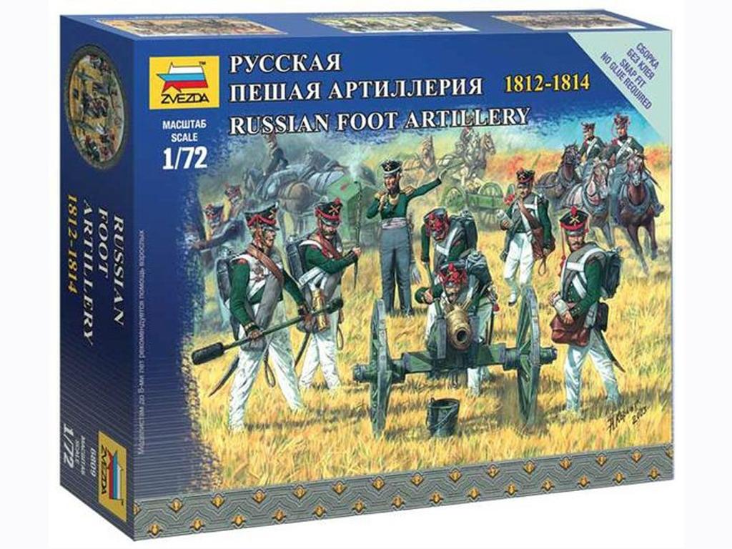 Artillería a Pie Rusa  (Vista 1)