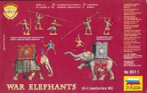 Elefantes de Guerra.  (Vista 2)