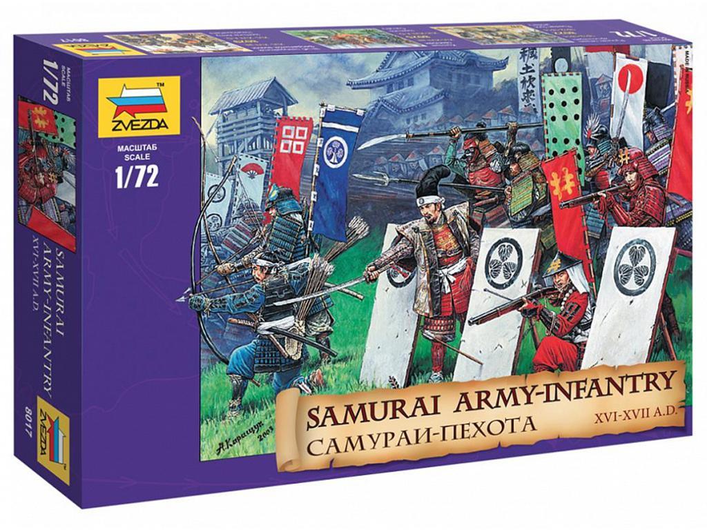Infanteria Samurai. Siglos XVI/XVII  (Vista 1)