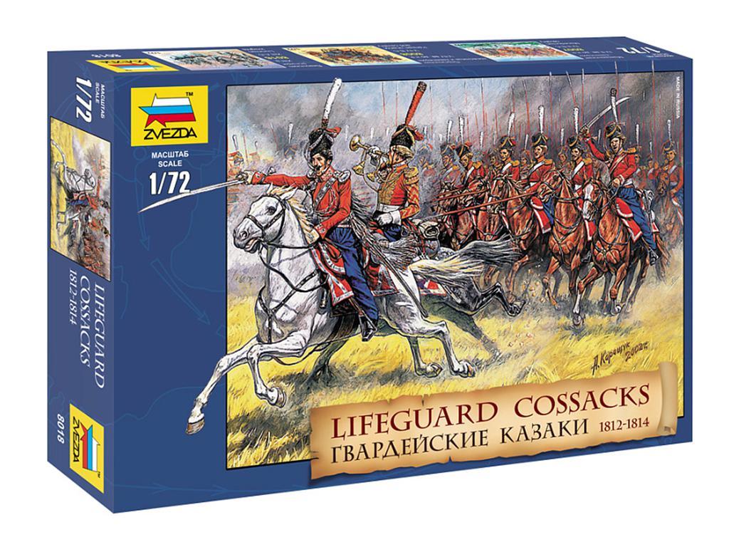 Caballeria de la Guardia Rusa : Cosacos.  (Vista 1)
