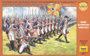 Prussian Grenadiers Frederick the Great  (Vista 1)
