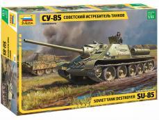 Soviet Tank Destroyer SU-85 - Ref.: ZVEZ-3690