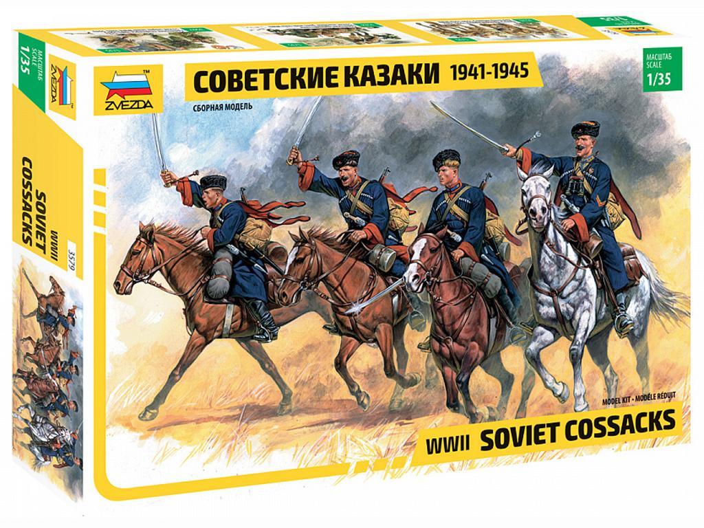 Cosacos a caballo 2ª GM (Vista 1)