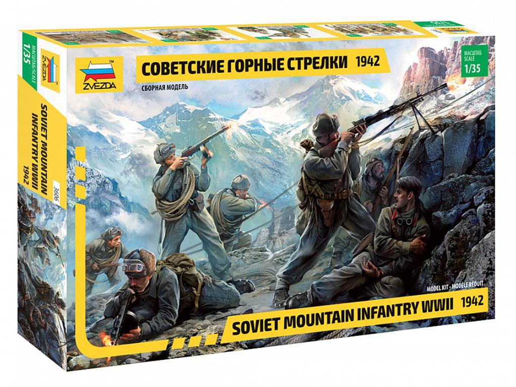 Infantería rusa de montaña 1942 (Vista 1)