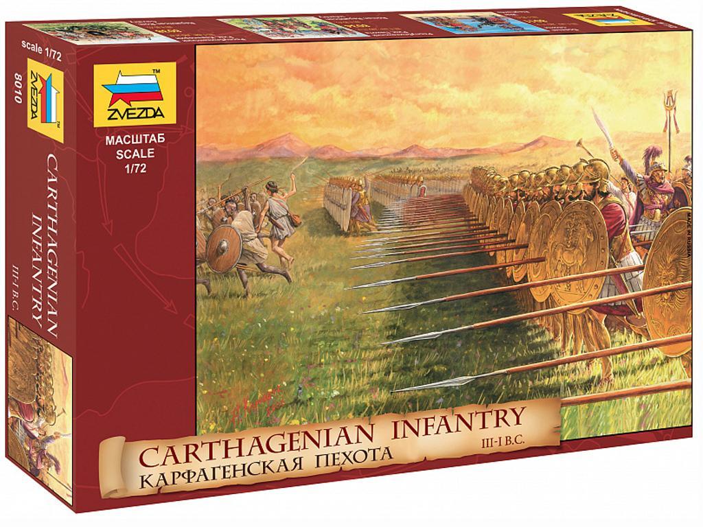 Infantería  Cartaginesa III - I a.C. (Vista 1)